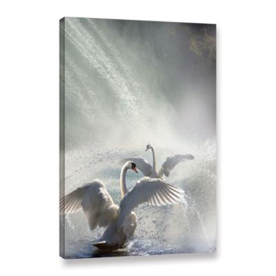 Brushstone Water Dance Gallery Wrapped Canvas WallArt