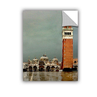Brushstone Venice Piazza Removable Wall Decal