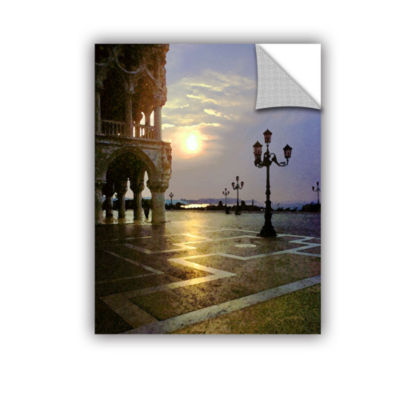 Brushstone Venice Piazza 2 Removable Wall Decal