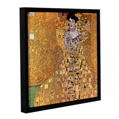 Bloch Bauer Gallery Wrapped Floater-Framed CanvasWall Art