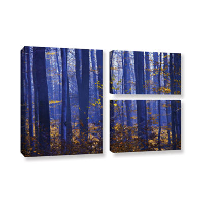 Blue Forest 3-pc. Flag Gallery Wrapped Canvas WallArt