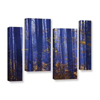 Blue Forest 4-pc. Gallery Wrapped Staggered CanvasWall Art