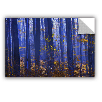 Blue Forest Removable Wall Decal