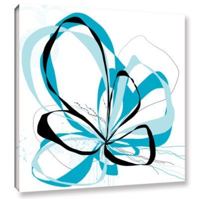 Blue Knot Gallery Wrapped Canvas Wall Art