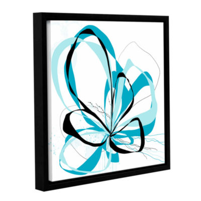 Blue Knot Gallery Wrapped Floater-Framed Canvas Wall Art