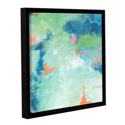 Blue Skies 2 Gallery Wrapped Floater-Framed CanvasWall Art