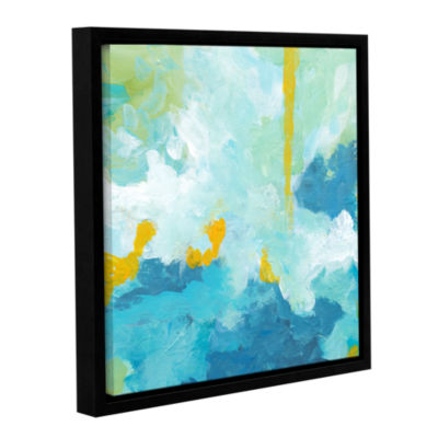 Blue Skies Gallery Wrapped Floater-Framed Canvas Wall Art