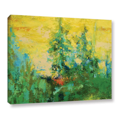 Blue Spruce Gallery Wrapped Canvas Wall Art