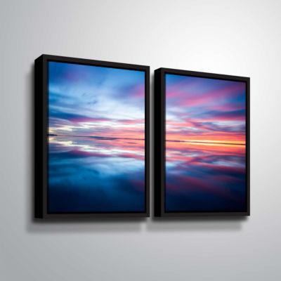 Bonnieville Salt Flats 2-pc. Floater Framed CanvasWall Art