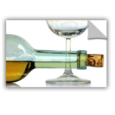 Bottles Plus Glass Removable Wall Decal