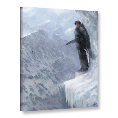 Brushstone Breaks Over Gallery Wrapped Canvas WallArt
