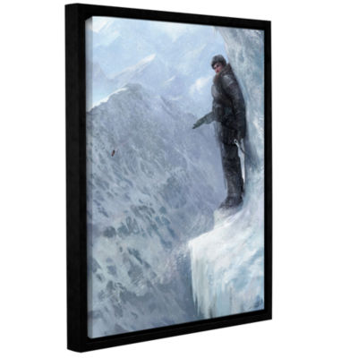 Breaks Over Gallery Wrapped Floater-Framed CanvasWall Art