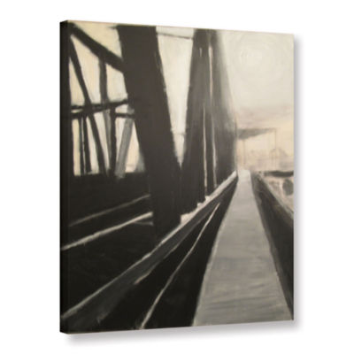 Brushstone Bridge Gallery Wrapped Canvas Wall Art