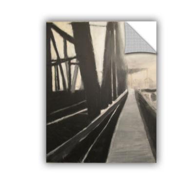 Brushstone Bridge Removable Wall Decal