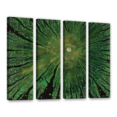 Brushstone Summer Shudder 4-pc. Gallery Wrapped Canvas Wall Art