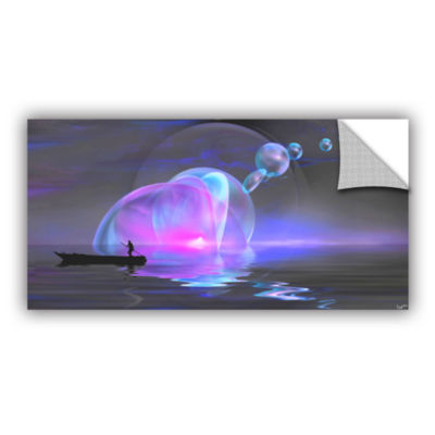 Blue Sunset-Light Removable Wall Decal