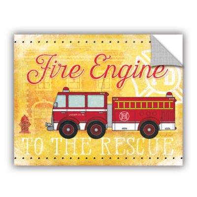 Brushstone Fire Rescue Removable Wall Decal