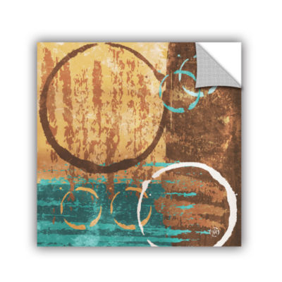 Brushstone Grunged Revolution II Removable Wall Decal