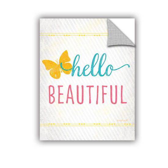 Brushstone Hello Removable Wall Decal