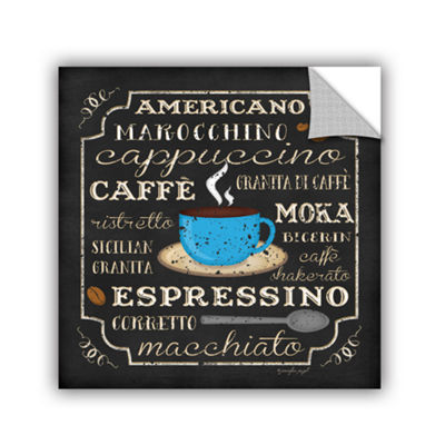 Brushstone Italian Coffee Removable Wall Decal