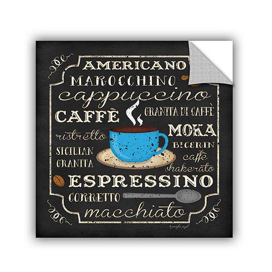 Brushstone Italian Coffee Removable Wall Decal