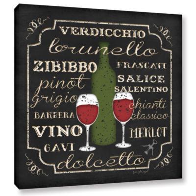 Brushstone Italian Wine Gallery Wrapped Canvas Wall Art