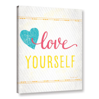 Brushstone Love Gallery Wrapped Canvas Wall Art