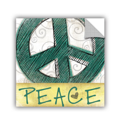 Brushstone Peace & Love Set I Removable Wall Decal