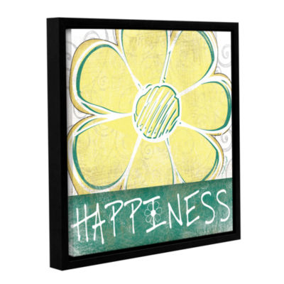 Brushstone Peace & Love Set III Gallery Wrapped Floater-Framed Canvas Wall Art