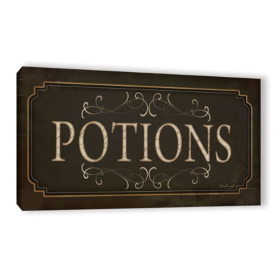Brushstone Potions Gallery Wrapped Canvas Wall Art