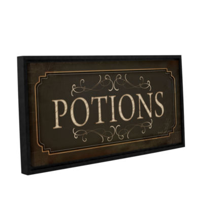 Brushstone Potions Gallery Wrapped Floater-FramedCanvas Wall Art