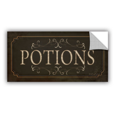 Brushstone Potions Removable Wall Decal