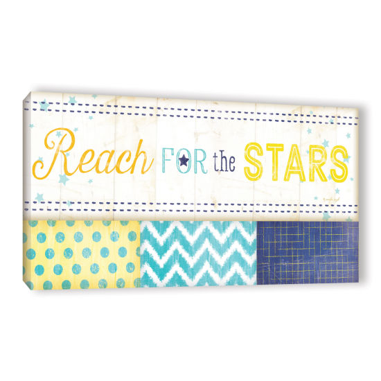 Brushstone Reach For The Stars Gallery Wrapped Canvas Wall Art