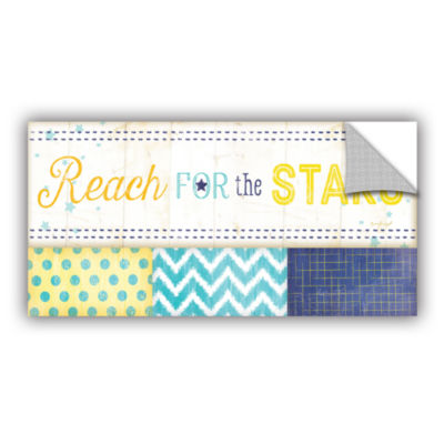 Brushstone Reach For The Stars Removable Wall Decal