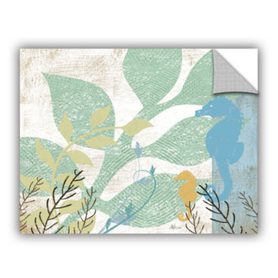 Brushstone Sea Life I Removable Wall Decal