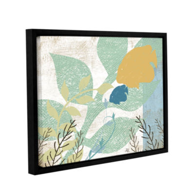 Brushstone Sealife Collection Gallery Wrapped Floater-Framed Canvas Wall Art