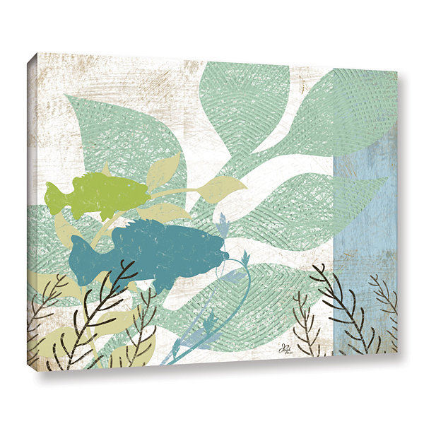 Brushstone Sealife Collection II Gallery Wrapped Canvas Wall Art