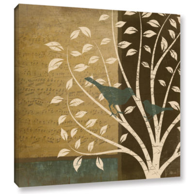 Brushstone Song Birds II Gallery Wrapped Canvas Wall Art