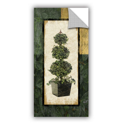Brushstone Topiary I Removable Wall Decal