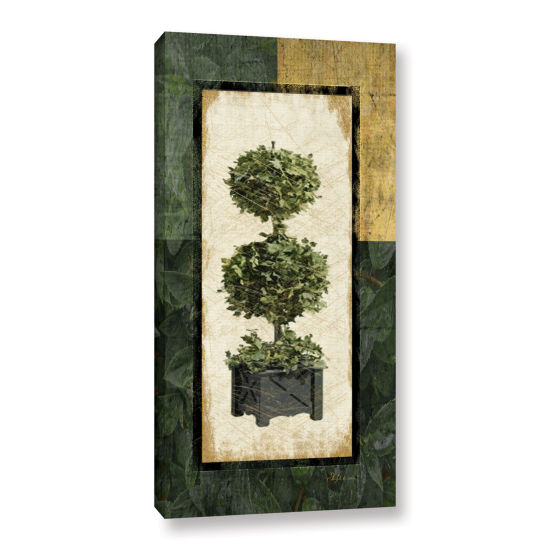 Brushstone Topiary II Gallery Wrapped Canvas WallArt