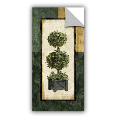 Brushstone Topiary II Removable Wall Decal