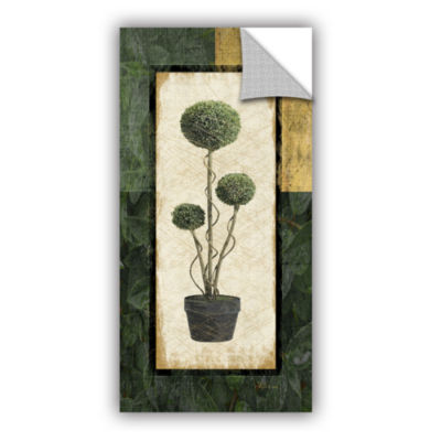 Brushstone Topiary III Removable Wall Decal