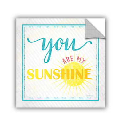 Brushstone You Are My Sunshine Removable Wall Decal