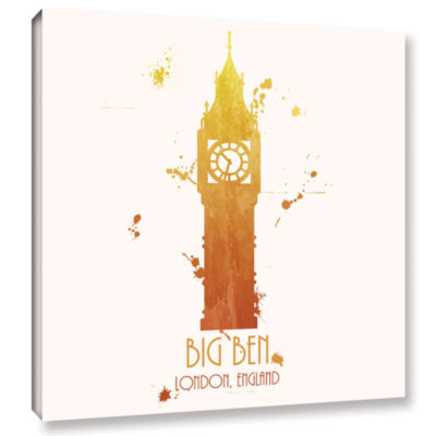 Brushstone Big Ben Gallery Wrapped Canvas Wall Art