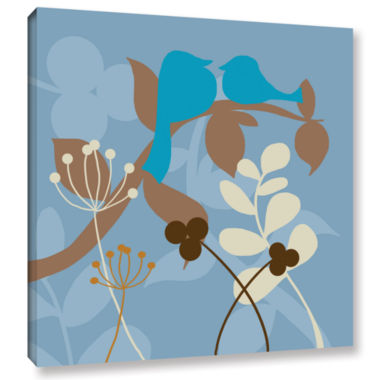 Brushstone Birds Gallery Wrapped Canvas Wall Art
