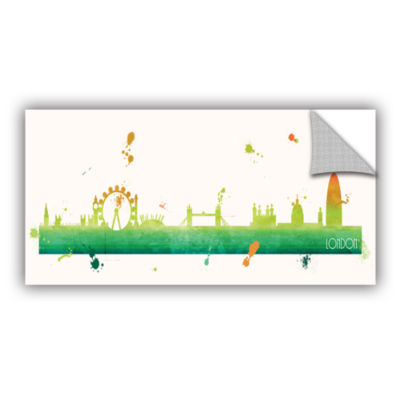 Brushstone Citrus London II Removable Wall Decal
