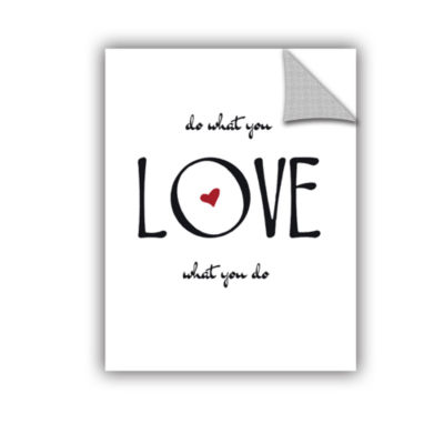 Brushstone Do What You Love Removable Wall Decal