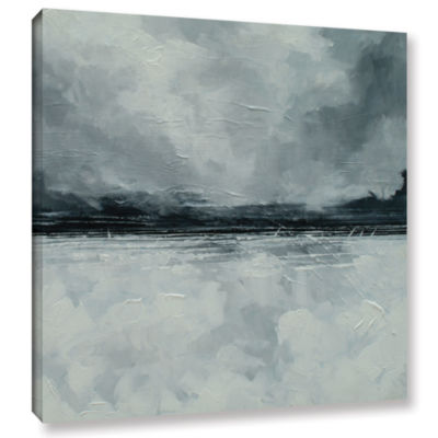 Brushstone Black Sea Gallery Wrapped Canvas Wall Art