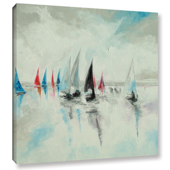 Brushstone Calm And Serene Gallery Wrapped CanvasWall Art