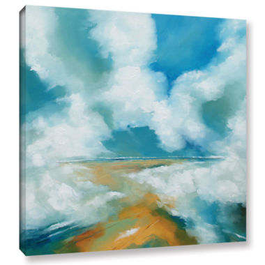 Brushstone Clouds II Gallery Wrapped Canvas Wall Art
